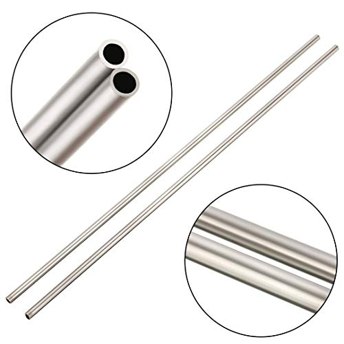 2 x 304 Edelstählen Kapillarrohr Rohr OD 4mm ID 3mm Länge 250 mm