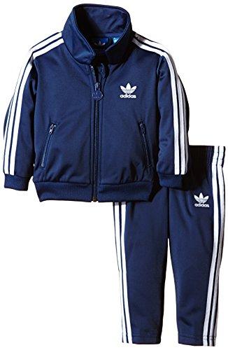 adidas Baby Trainingsanzug I Firebird, Oxford Blue-St/White, 86, AB1863