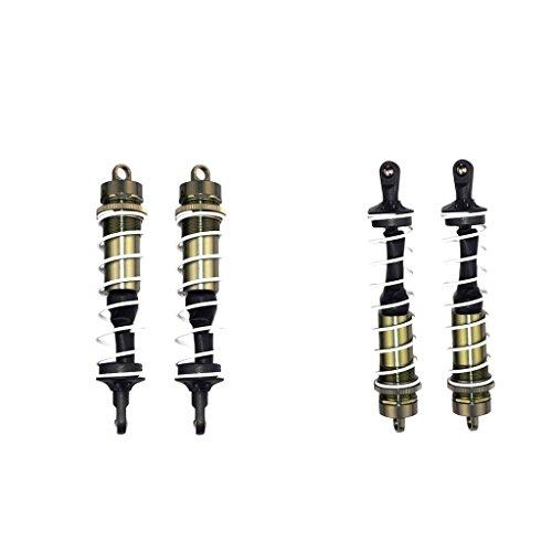 BeesClover 4pcs/Set Ammortizzatore Antipolvere Copertura 1/8Fuoristrada Buggy RC Auto Parts for HSP HPI Blue Personaggi e veicoli