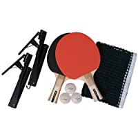 Dunlop AC Rage Championship Set of 2 Table Tennis Bats and Net