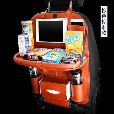 QIONGS Auto Organizer Rücksitz,Autositzlehne Aufbewahrungstasche Stuhl zurück Hanging Interieur, Multifunktions-Multi Taschen-Speicher-Organisator, orange