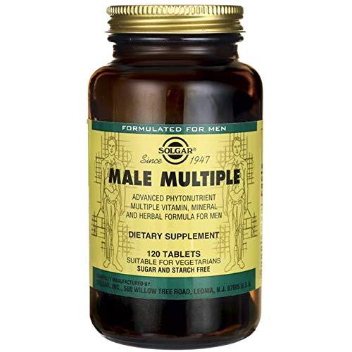 Solgar Male Múltiple, Multinutriente para el Hombre, Con Vitaminas, Minerales y Licopeno,...