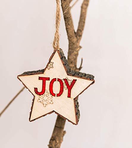 Weihnachtsschmuck Kleine Pendelleuchte Aus Holz String Weihnachten Holzsterne Kleine Pendelleuchte Aus Holz String Ornament Weihnachten Holz Lampe @ B Freude