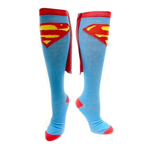 Superman Kniesocken mit Umhang
