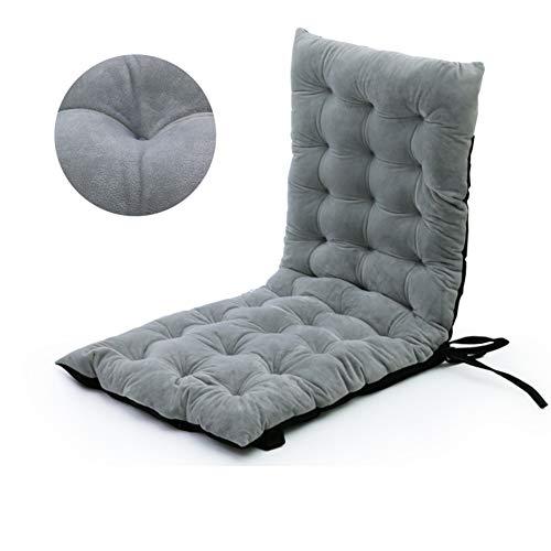 ALIPC Liege Stuhlkissen,atmungsaktive Pp Baumwolle Chaise Liege Sitzkissen Verdickung Rutschfestes Sitzpolster-a 125x50x10cm(49x20x4inch) -