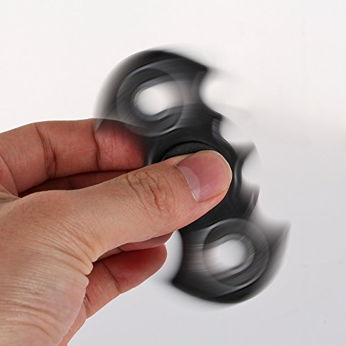 TANAINA Tri Fidget Hand Spinner Toys,Personalidad Vistoso Murciélago Diseño Alta velocidad Reductor -