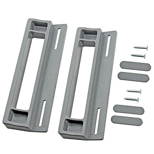 spares2go-tirador-de-puerta-para-zanussi-nevera-congelador-pack-de-2-190-mm-gris-plata