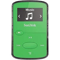 Lecteur MP3 SanDisk Clip Jam 8 Go Vert SDMX26-008G-G46G