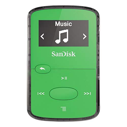 SanDisk Clip Jam 8GB MP3-Player Grün