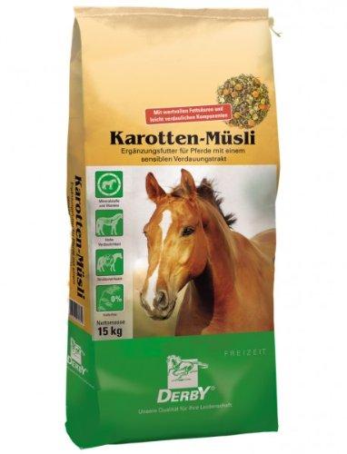DERBY Karotten Müsli 15kg - Pferdefutter