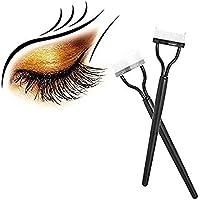 CAFFER Rizador de Peine de pestañas Maquillaje de aplicador de máscara Herramienta de Cepillo de ceja