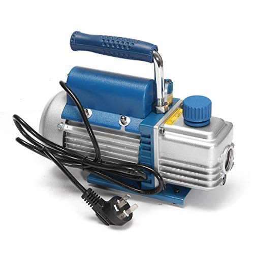 HarveyRudol85 [Ausgezeichnet] 150W 2 Pa einstufige Drehschieber-Vakuumpumpe für Klimaanlage -