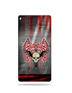 alDivo Premium Quality Printed Mobile Back Cover For Huawei Honor P8 / Huawei Honor P8 Back Case Cover (MKD102)