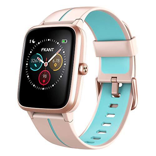 Oferta de AITES Smartwatch,Reloj Inteligente para Hombre Mujer 18 Modos Reloj Deportivo con Impermeable 5ATM Pulsera Actividad Inteligente con Pulsómetro Monitor de Sueño Calorías Podómetro,Regalo para Hombre