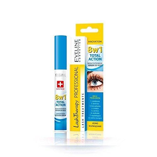 Eveline Cosmetics Multi-Purpose Eyelash Serum Total Action 8in1, 10ml