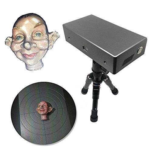 Desktop-3D-Scanner Full Color Hohe Genauigkeit zu 0,08 mm 30F / S Zahnform 3D Scanner Thunk3D Cooper C20 Einfache Bedienung