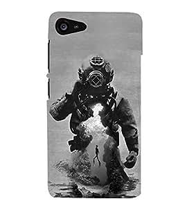 Hi-Me Designer Phone Back Case Cover Lenovo ZUK Z2 :: Lenovo Zuk Z2 Plus ( Astros Dream Swim Underwater )