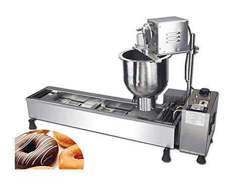 MXBAOHENG Automatische Donut Maker Donut Maschine mit 3 Größen Formen Doughnut Maker -