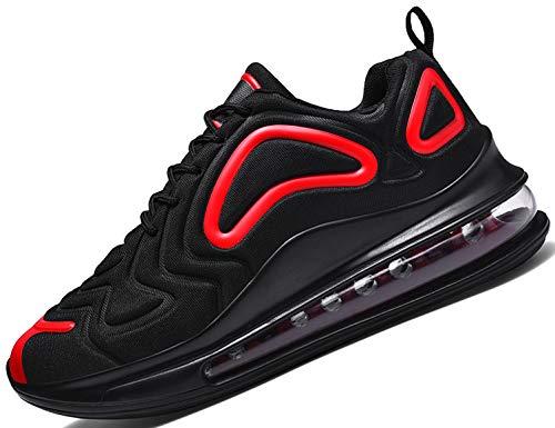 SINOES Laufschuhe Weben Hohe Hilfe Socken Schuhe Trend Luftkissenschuhe Alte Turnschuhe - Unisex Erwachsene Slimmer High-Top,Turnschuhe Freizeit Schnürer Sportschuhe Sneaker