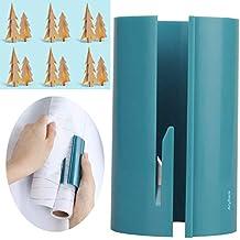 Rouleau de papier cadeau Cutter massicot Rogneuse rotative, cutters outils de coupe de lame de couteau d'art de remplacement pour maquettes papier Fête de Noël Anyback Vert Lot de 1