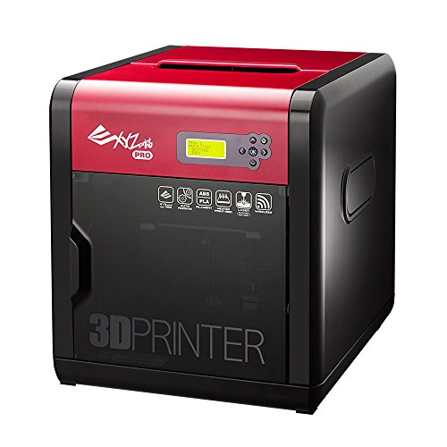 XYZ Printing da Vinci 1.0 Pro 3D-Drucker, Offenes Filament System, Erweiterbar mit Laser-Gravierer, 20x20x20cm Druckgröße