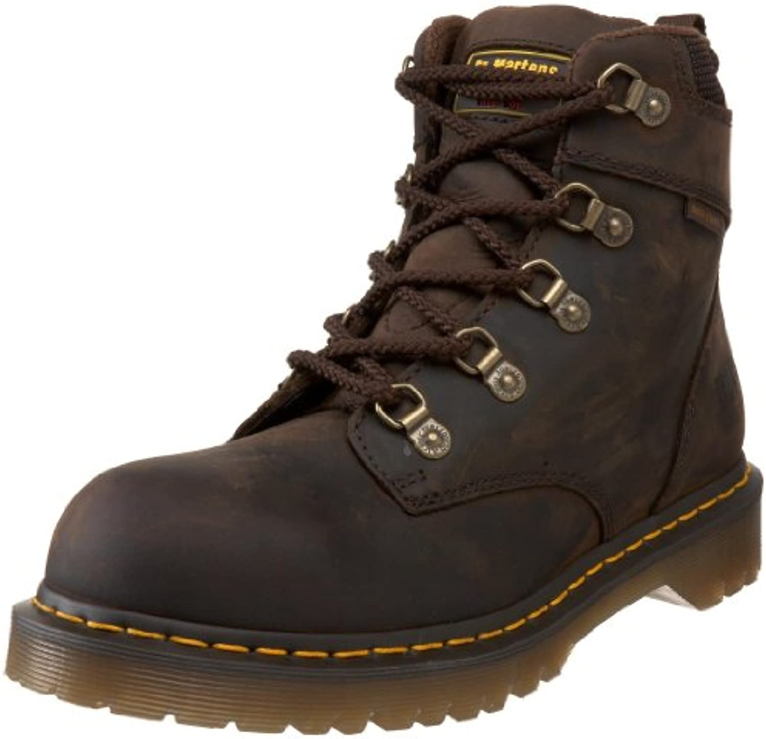 Dr. Martens Holkham Steel Toe Hiker Gaucho 10 UK/12 M US Women's/11 M US Men's