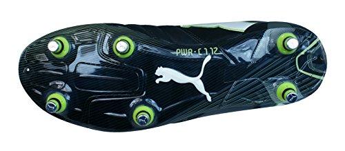 Puma PowerCat 1.12 SG 102469, Scarpe da calcio uomo - nero/bianco
