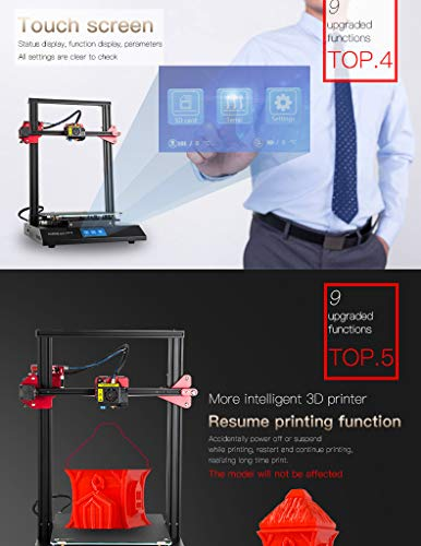 Luxnwatts Creality CR-10S Pro 3D Printer Auto Leveling Sensor And LCD Double Extrusion With Resume Printing Filament Detection Function 300x300x400mm - 5
