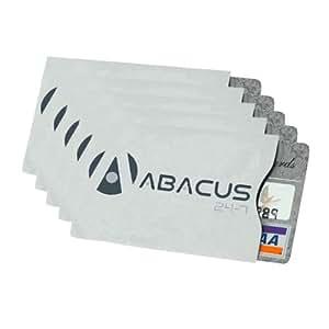RFID Schutzhülle Case für Personalausweis/Kreditkarten-Credit Cards/BahnCard/Studienausweisen - Sparset - 5-pack