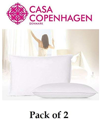 Casa Copenhagen Exotic Premium 2 Pack Pillows Fillers/Inserts 40 cm x 60 cm …