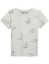 next Niños Pack de tres camisetas dinosaurios manga corta (3 meses-6 años) Corte Estándar