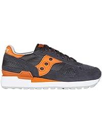 Saucony zapatos zapatillas de deporte mujer en ante nuevo shadow gris