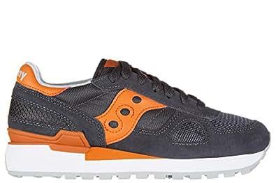 Immagine non disponibile. Immagine non disponibile per. Colore: Saucony  scarpe sneakers donna camoscio nuove shadow grigio ...