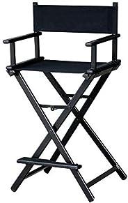Makeup Artist Aluminium Portable Director Chair MAYLAN - Black