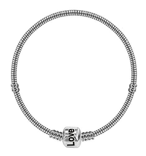 Bracciale placcato argento Pandora compatibile