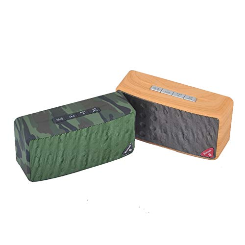 Bafles De Sonido Bluetooth Lautsprecher,Bt Fm Radio Bocina Lautsprecher Enceinte Bluetooth Portable Puissant Portatil Ch4 Fan Camo,Mini Bluetooth Lautsprecherrdicht,Tragbar