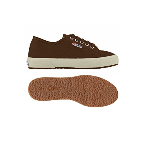 Superga - 2750- Plus Cobinu, Scarpe da ginnastica Donna DK COFFEE