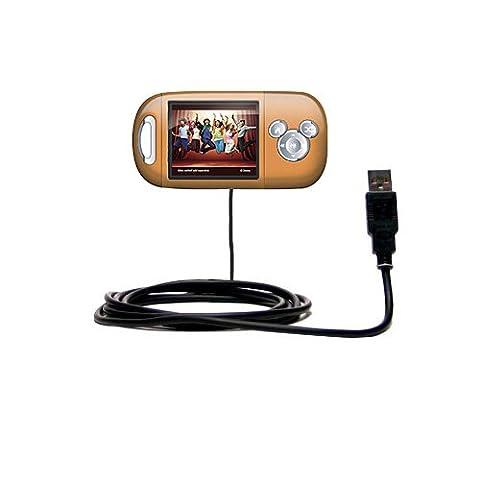 Hot Sync und Straight USB-Ladekabel für Disney High School Musical Mix Stick MP3 Player DS17019 Mit TipExchange Technologie ausgerüstet