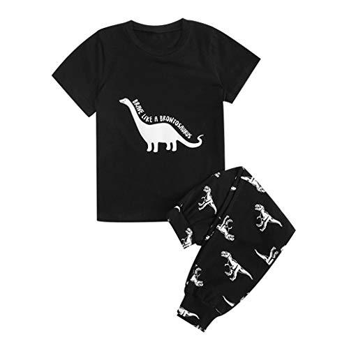 Baiomawzh Counjunto Ropa Bebé Niño Verano Camisas