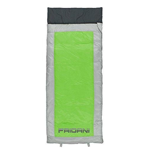 sack QG 170 x 70cm Deckenschlafsack +6 °C Grün warm wasserabweisend waschbar ()