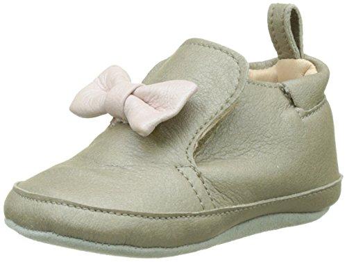 Shoo Pom Chou Knot, Chaussures de Naissance Bébé Fille Gris (Metal Taupe Multi)