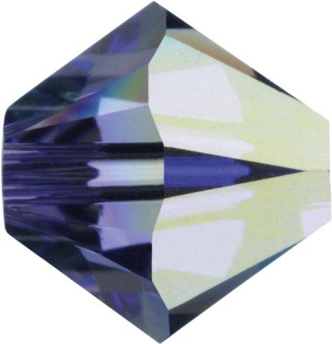 Original Swarovski Elements Beads 5328 MM 4,0 - Olivine (228) ; Diameter in mm: 4.0 ; Packing Unit: 1440 pcs. Tanzanite Aurore Boreale (539 AB)