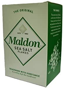 Maldon Organic Sea Salt Flakes 250 g (Pack of 4)