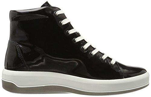 Ecco Ladies Soft 9 Sneaker Alta Nero (nero)