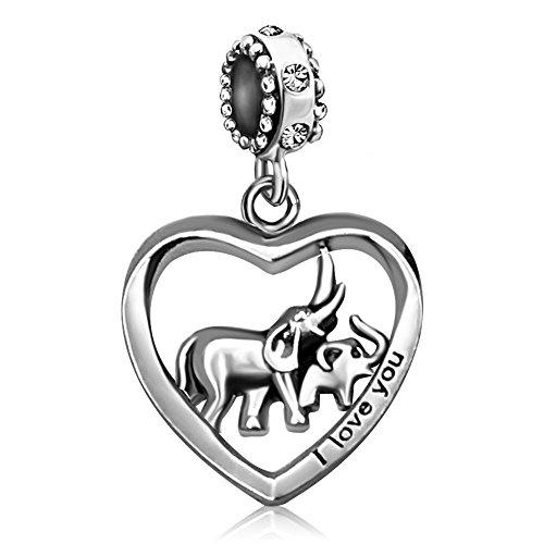 KunBead Jewelry Damen - Copper Platinum Kupfer (Charms Pandora Authentisch Baumeln)