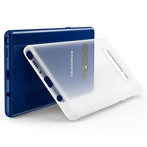 Spigen 587CS22050 - Samsung Galaxy Note 8 Schutzülle, [Air Skin] Ultra Slim, Soft Clear