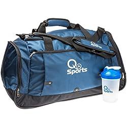 Bolsa de deportes impermeable con correa para el hombro, acolchada, bolsa de viaje