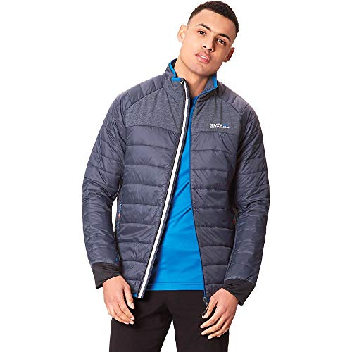 Regatta Herren Halton II Lightweight Water Repellent Insulated Jacke, Grau, XL Jacke Herren Insulated Jacken