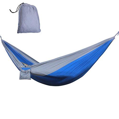iiniim Hängematte Tragbaren Parachute Hängematte [275x140cm]