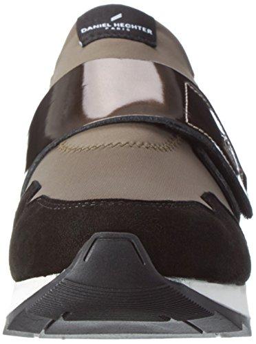 Daniel Hechter Hj826736, Sneakers basses femme Schwarz (schwarz / Grau)